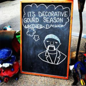 Decorative Gourd season