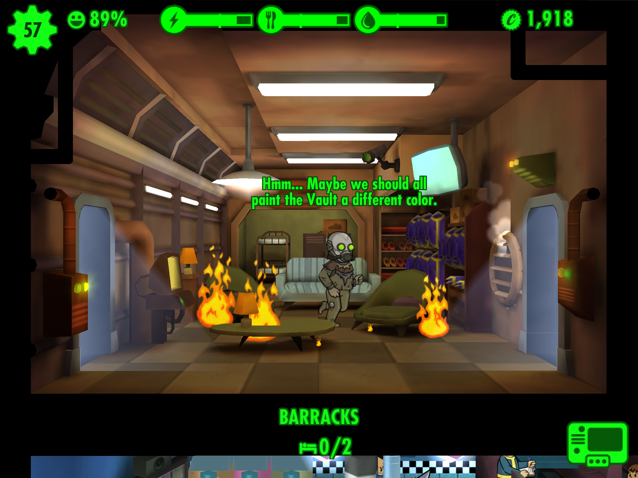 Game Review: Fallout Shelter | Bennett North