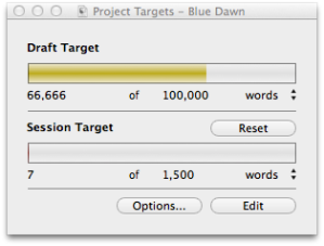 The word count of the beast.